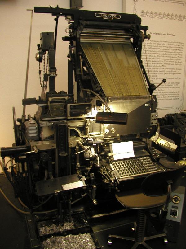 p3034800 linotype machine. Black Bedroom Furniture Sets. Home Design Ideas