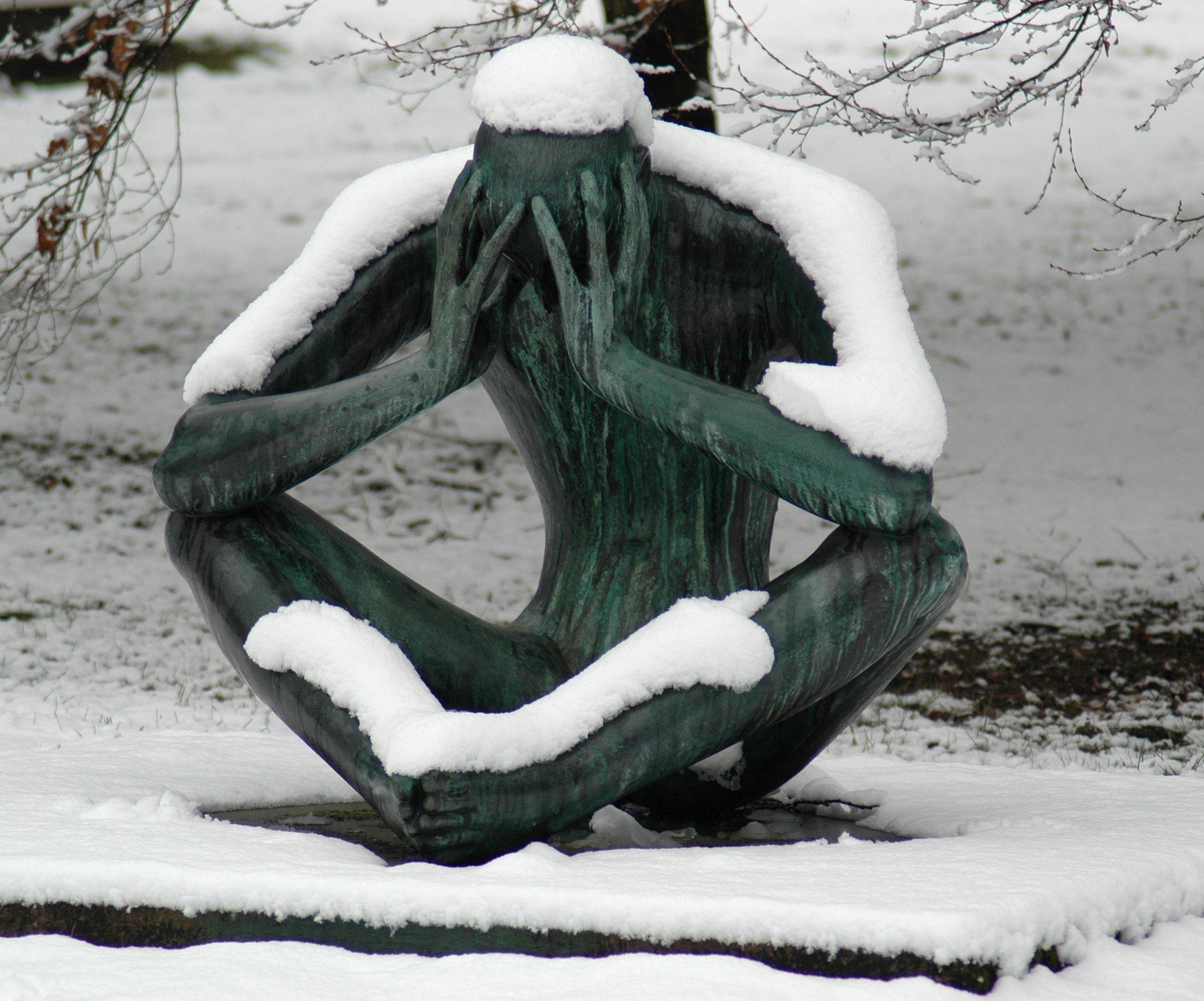 تمثل زمستانی!